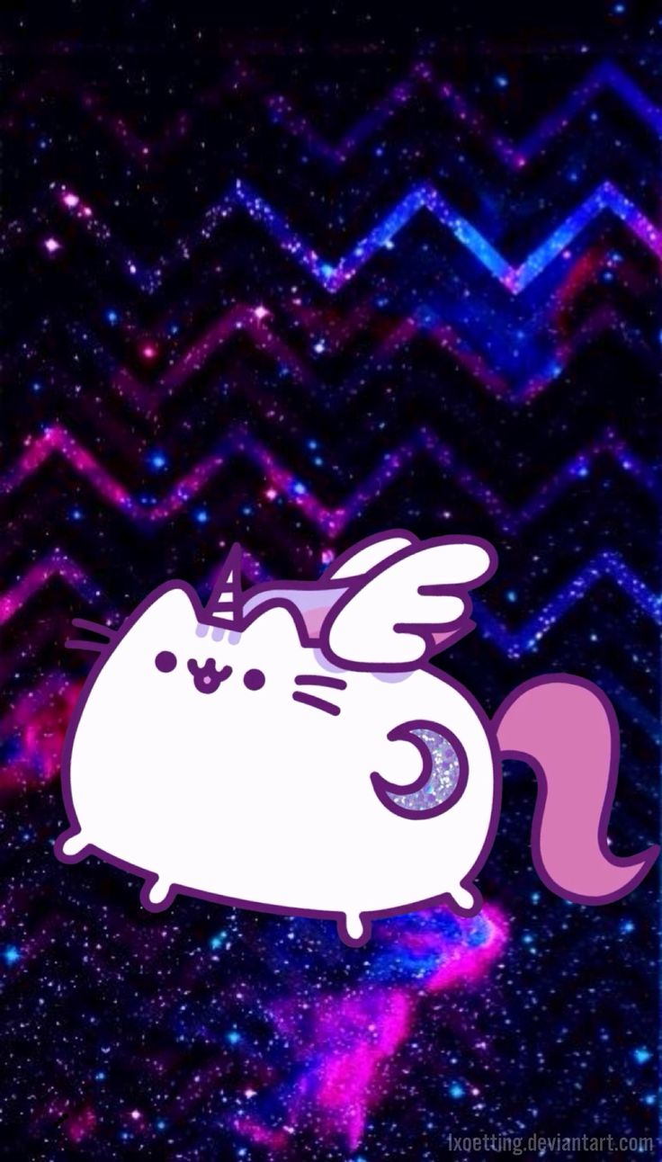 Super pusheenicorn wallpaper! #superpusheenicorn