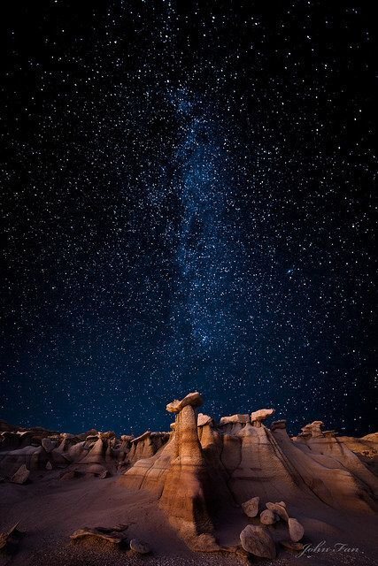 New Mexico star gazing...beautiful landscape and sky here  rocks. cactus. rocks. caverns. yolo. more rocks. maybe sandstorm.