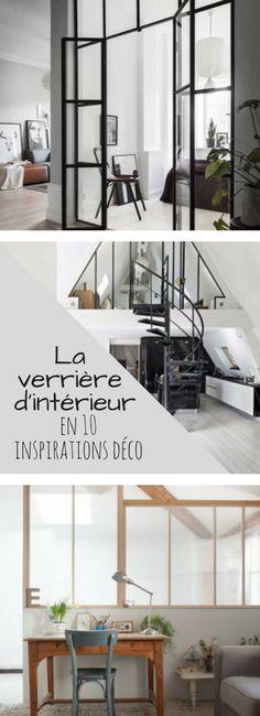 Cuisine, chambre, salon, salle de bain : 10 idées pour installer une verrière dans son intérieur !