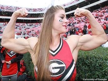 Anna Watson, University of Georgia cheerleader