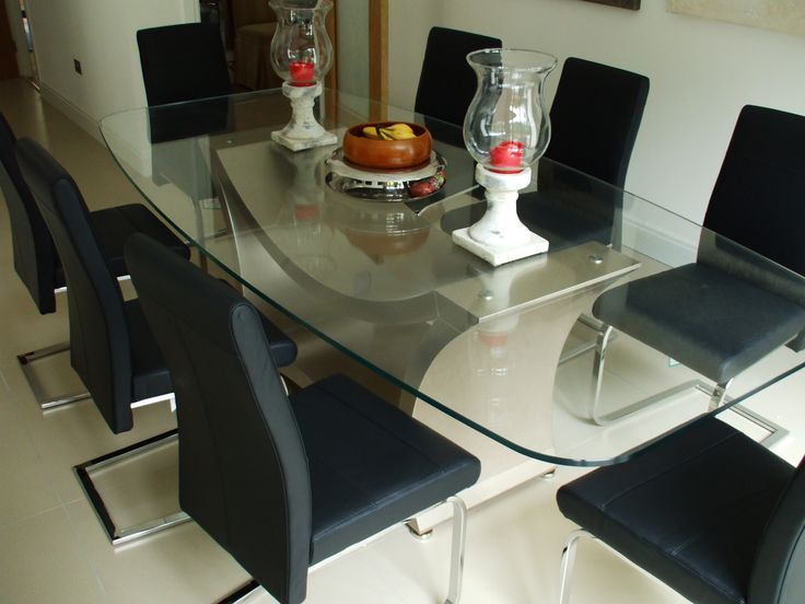 Star Dining Chairs Real Leather Upholstery In 26 Colours And Mirror Chrome Legs A