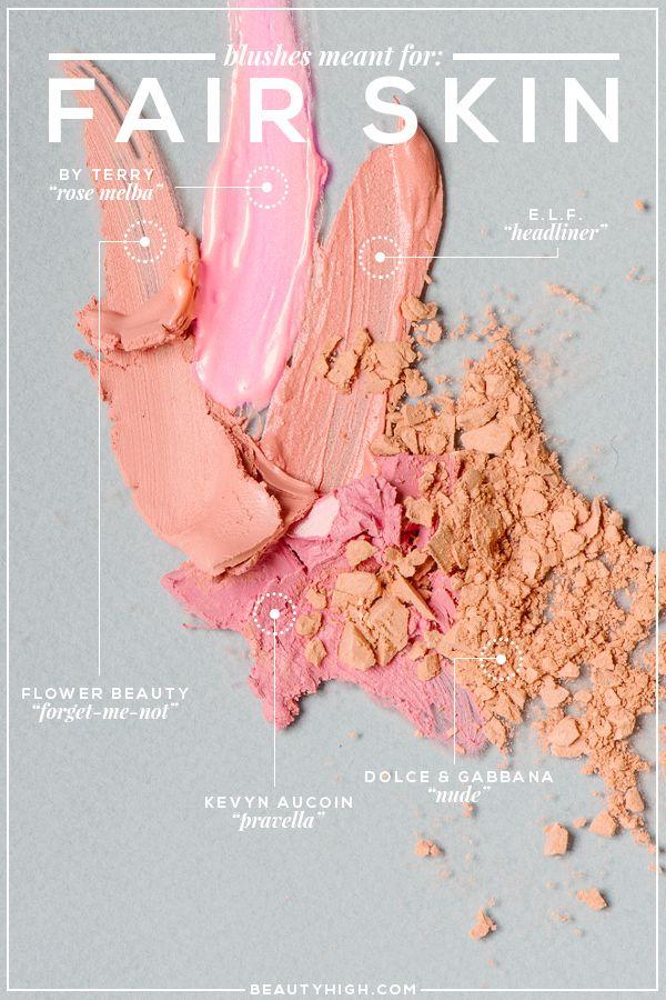 The Best Blush for Different Skin Tones
