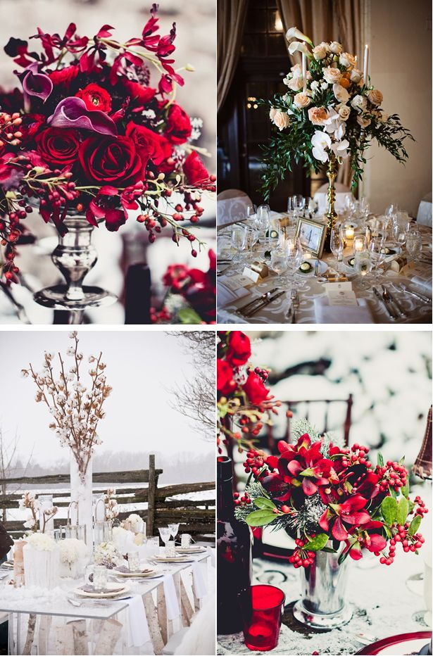 Best images about beautiful winter centerpieces on