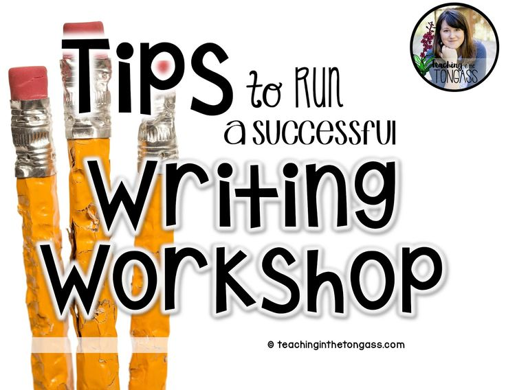 Writer's Workshop - BEST detailed description of how to run writers workshop. .. great ideas and resources too!