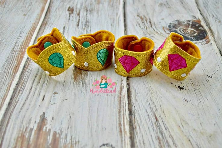 Shimmer and Shine cuff bracelets, shimmer and shine birthday, party favors, gifts, dress up fun by MyWonderlandBoutique on Etsy
