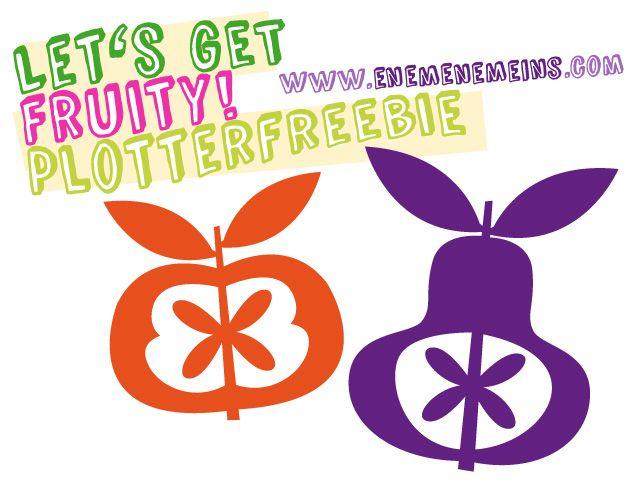Let's get fruity – Vitamine fürs Auge und ein Plotterfreebie!