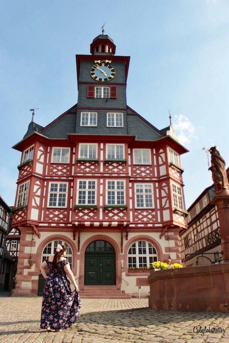 Heppenheim Rathaus (City hall), Hesse, Germany - California Globetrotter