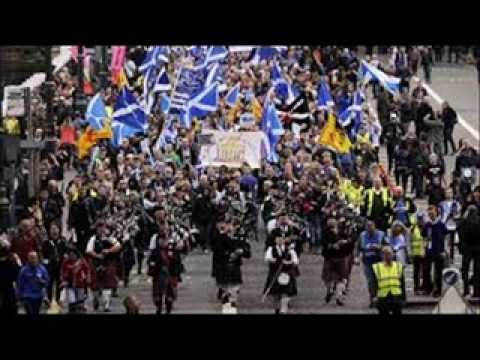 30,000 Scottish Patriots March For Freedom