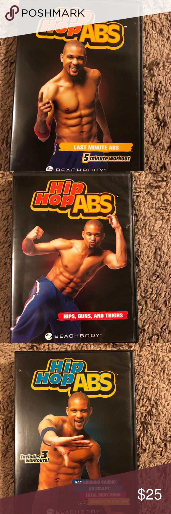 Beach Body Hip Hop Abs DVD set Beach Body Hip Hop Abs DVD set- barely used Other