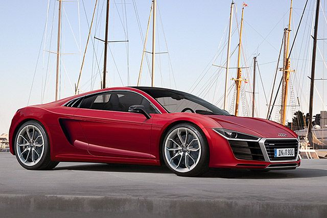 Audi R8 2015. Lease it through Premier Financial Services. #Lease #Luxury