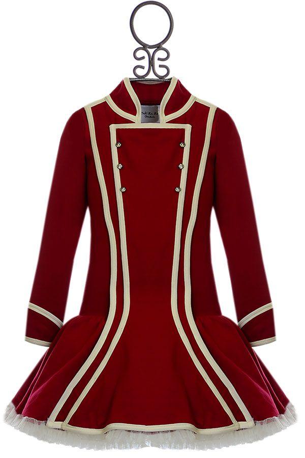 Ooh La La Couture Red Christmas Dress (12Mos18Mos24Mos6X/78)