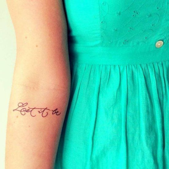 Short Tattoo Quotes For Girls: 17 Best Ideas About Small Quote Tattoos On Pinterest