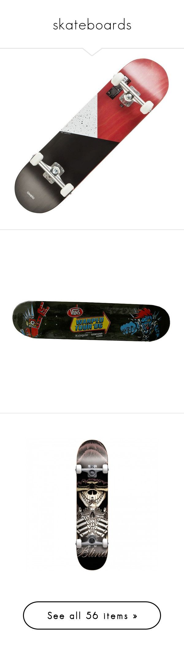 """skateboards"" by briana-is-hungry ❤ liked on Polyvore featuring skateboard, skateboards, accessories, home, filler, misc, other, boards, fillers and skate"