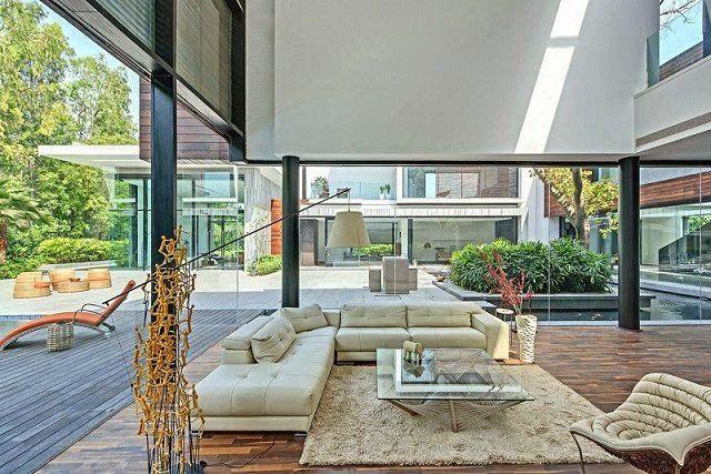 Casa moderna en Nueva Delhi / DADA & Partners   ArQuitexs