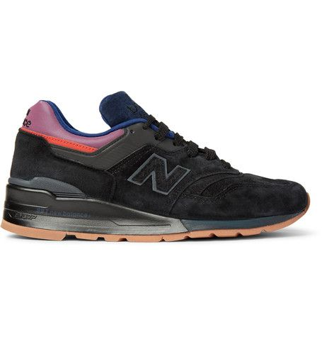 NEW BALANCE 997 Suede And Leather Sneakers. #newbalance #shoes #sneakers