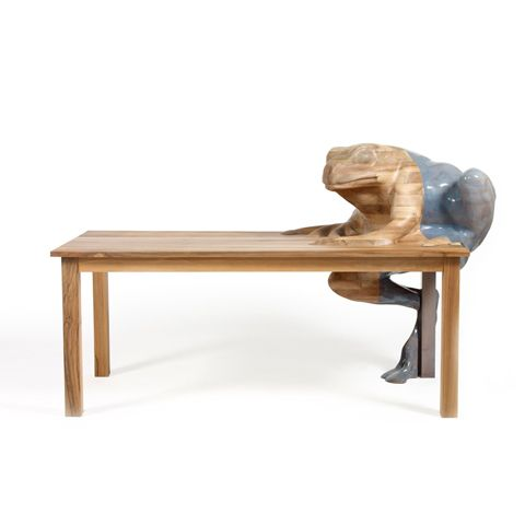 Awesome Hella Jongerius Frog Table (Natura Design Magistra)
