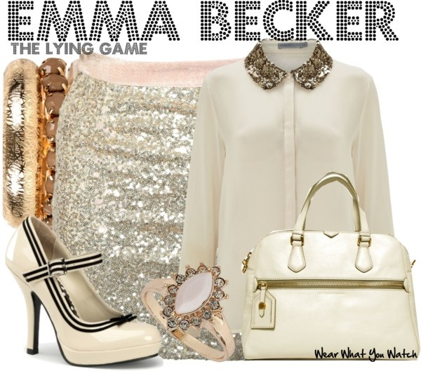 Inspired by Alexandra Chando as Emma Becker on The Lying Game.