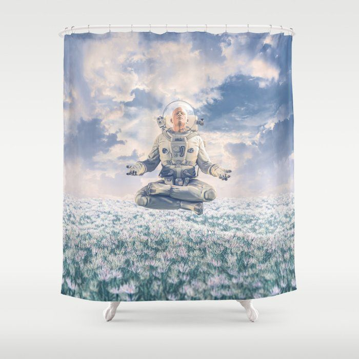 Dreamer In The Field Shower Curtain By Grandeduc Society6