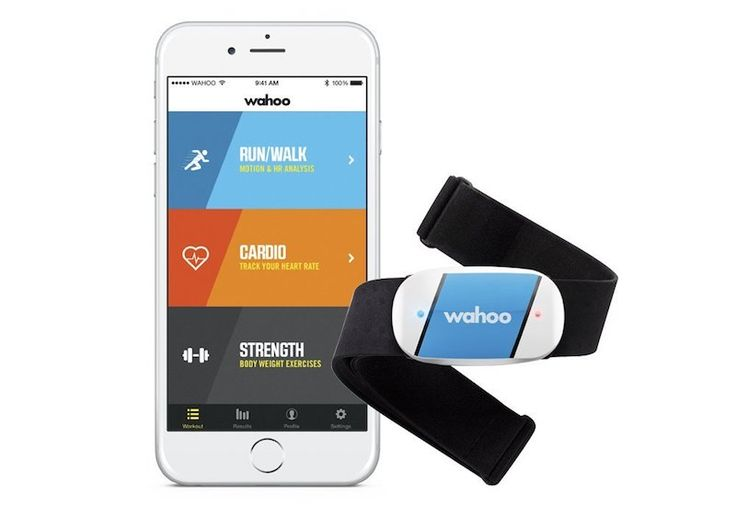 iPhone and Android compatible heart rate monitor