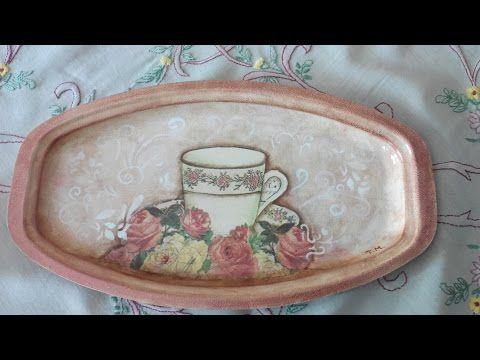 Ώρα για τσάι! Ντεκουπάζ σε δίσκο! - YouTube