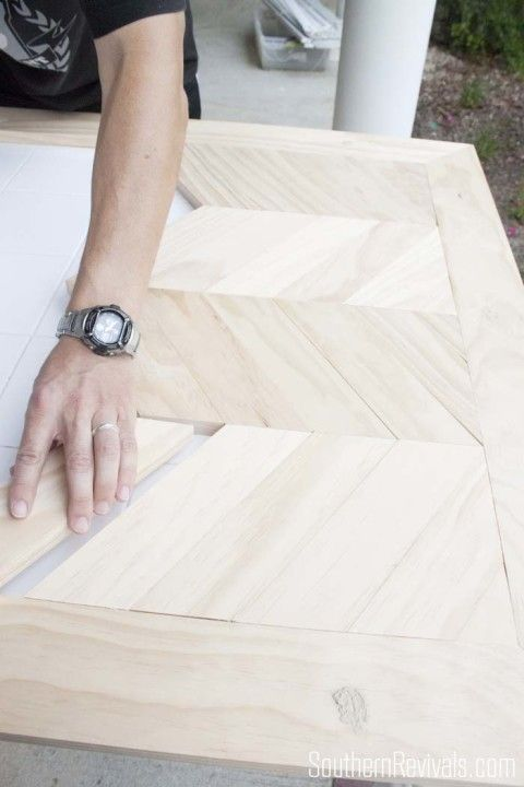 Tile Top Table Makeover   Updating a Tile Top Table with Wood Part 1 - Southern Revivals
