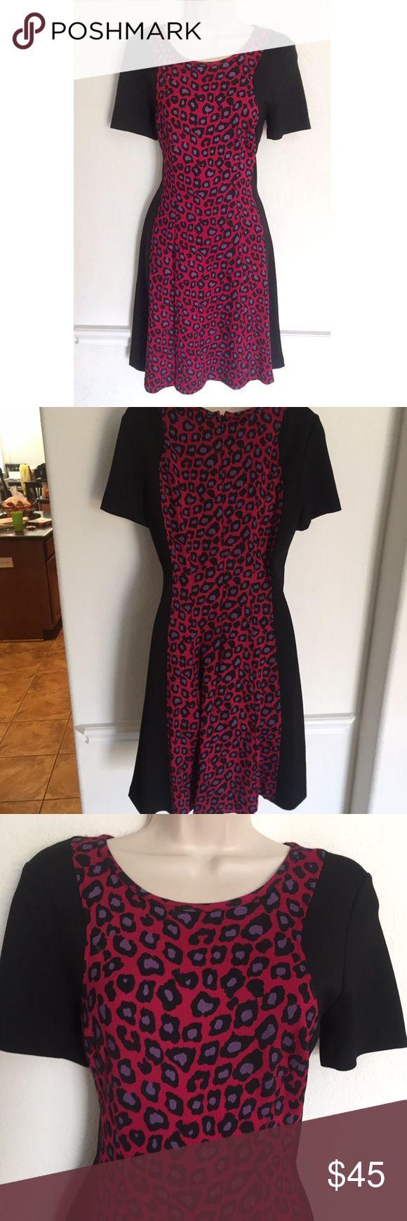 CATHERINE Catherine Malandrino Pink Leopard Dress CATHERINE Catherine Malandrino Pink Leopard Dress size 4 Catherine Malandrino Dresses Midi