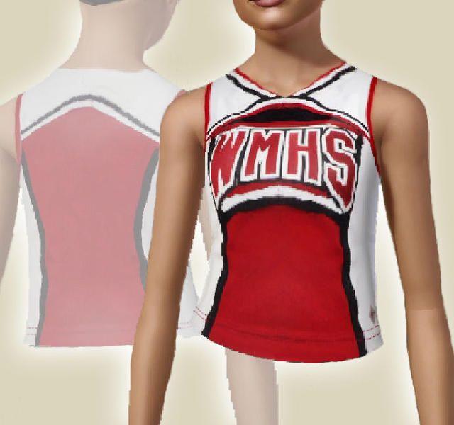 ancsie18's William McKinley High School Cheerleader Tank Top