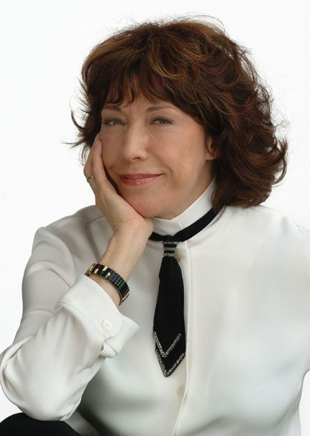 Lily Tomlin. [Actress, Comedian, Writer, Producer.] And I am privileged and honored to say...MY GODMOTHER!!!!!
