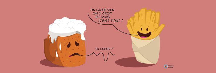 On lâche pas la patate et on garde la frite surtout !