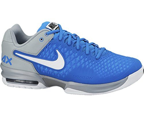 Discount Best price Nike Mens Air Max Cage Tennis Shoes Photo Blue/Magnet  Grey/White 554875-410 Size 10.5 - http://brazilequipment.com/best-price-n…