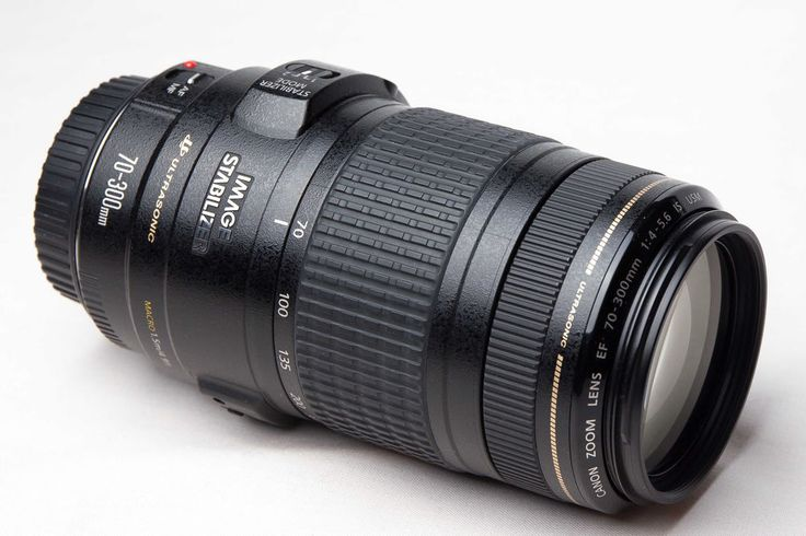 CANON EF 70-300 mm f/4-5.6 IS USM (Telezoomobjektiv)