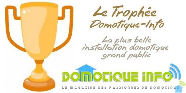Résultat du trophée Domotique-Info 2015