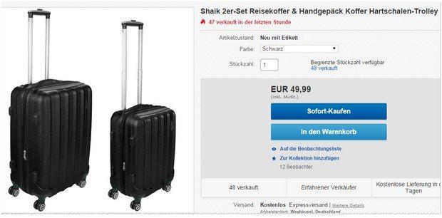 Schön koffer xxl günstig