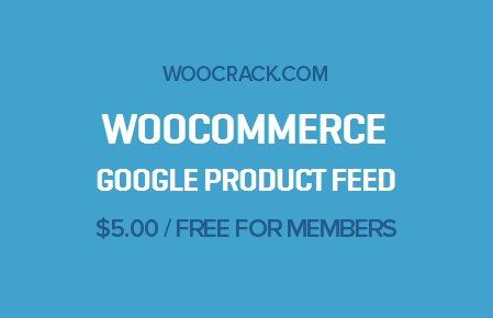 WooCommerce Google Product Feed 6.7.6, Woocrack.com – WooCommerce Google Product Feed is a WooCommerce Extensionsdeveloped by Woothemes. WooCommerce Google Product Feed allows you to easily con