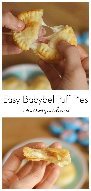 Babybel puff pies