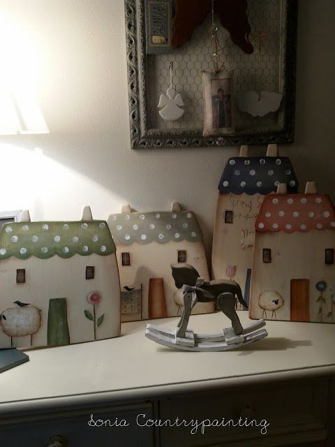 Sonia Countrypainting e Torta di Mele: CASETTA COUNTRY