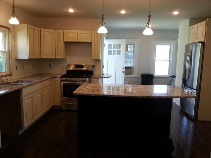 Glens Falls New York Kitchen Renovation Features CliqStudios Rockford  Cherry Russet Cabinets