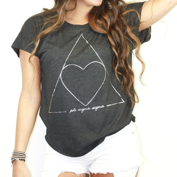 NEED!!! Metallic Slouchy Sorority T-Shirt - Greek