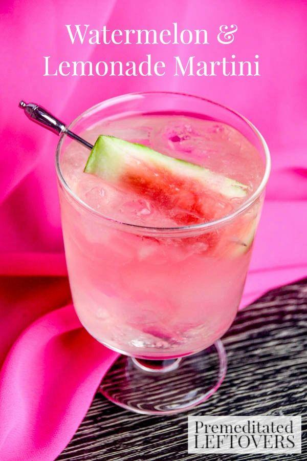 Watermelon & Lemonade Martini