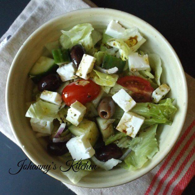 Greek Salad Recipe Balsamic Vinegar