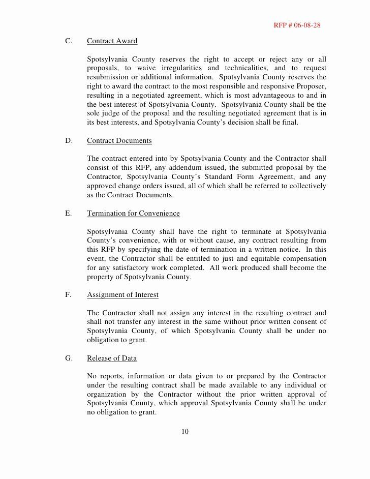 Request For Proposal Template Construction Beautiful Request For Proposal Rfp Building Construction Proposal Templates Request For Proposal Proposal