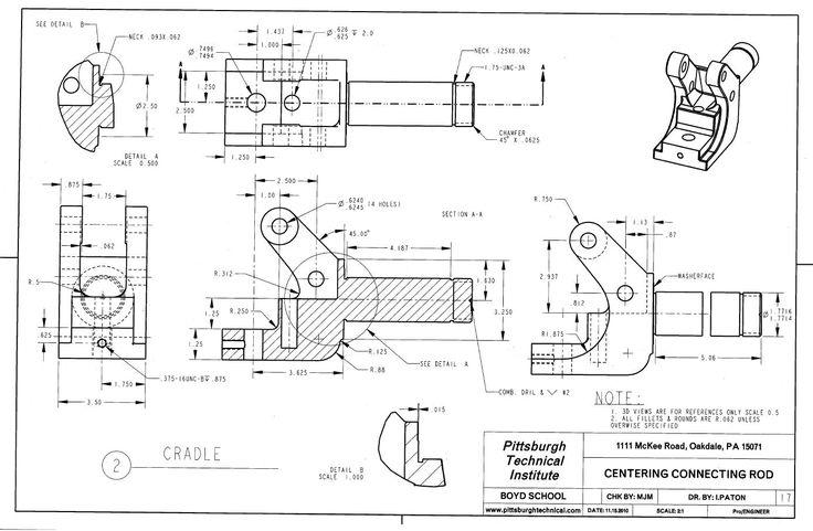233 best Mechanical drawings / Blueprints / CAD Drawings