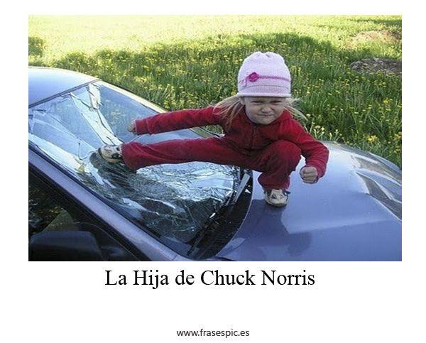 La hija de chuck Norris