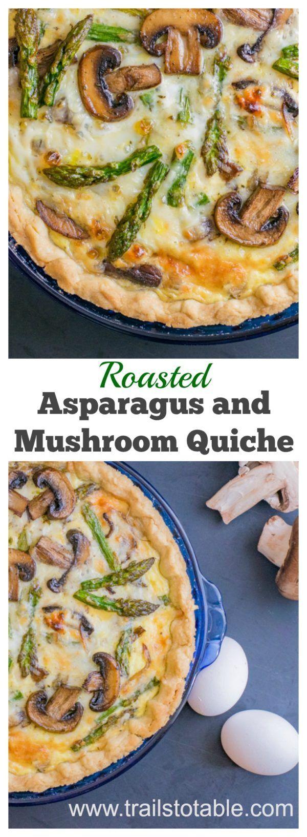 recipe: asparagus mushroom gruyere quiche [16]