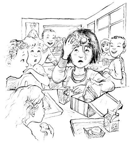 """Ramona the Pest & Nick agree: Happy 100th birthday to Beverly Cleary, who gives kids and adults alike a great reason to read. And she's from Kristof's hometown of Yamhill, Oregon! Here's his interview with the champ of kids' books. (Illustration from """"Ramona Quimby, Age 8"""": Jacqueline Rogers/HarperCollins Publishers)"""