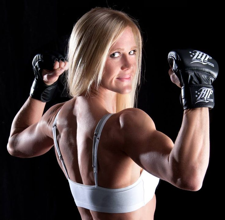 Lesbian muscle fighters #14