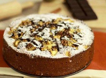 Κέικ με μήλα και σοκολάτα   InfoKids