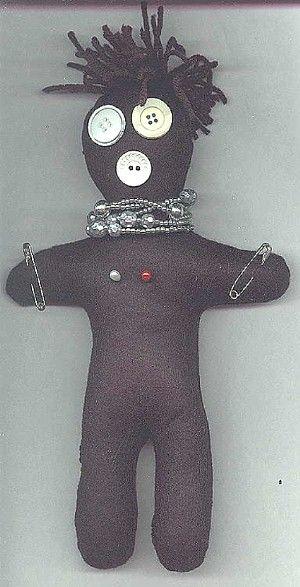 Hoodoo Magick Rootwork:  Voodoo Doll.