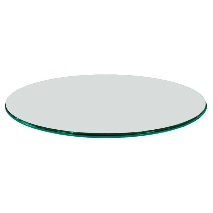 26 Round Glass Table Topper