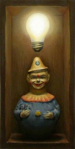 Jonathan Queen Fine Art, Toy Narrative Paintings - oil-paintings-2003-2008